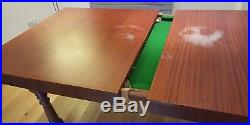 CLEARANCE 6 Ft Dining Pool Snooker Slate Bed Table With Accessories And Rules