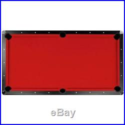 Championship Billiards Cloth Pool Table Felt Fabric Indoor Game Accessory 8' Red