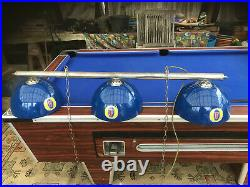 Classic Pool / Snooker Table Lights Genuine Fosters