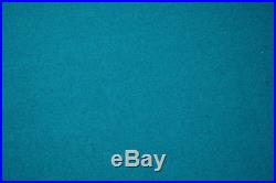 Cyan Double-sided Wool Pool Snooker Table Top Cloth Felt for 7''/8'' UK