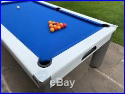 DPT Fusion Outdoor Pool Table / Pool Diner + Top, Cover, Balls and accessories
