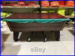DPT Omega 2.0 Slate Bed Pool Table 6ft x 3ft, Table Trolley, Loads accessories