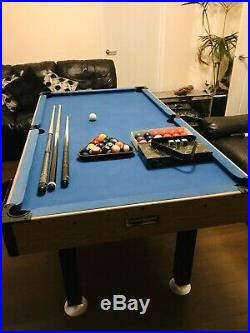 Debut 6ft x 3ft Pool & Snooker Table With Auto Ball Return & All Accessories