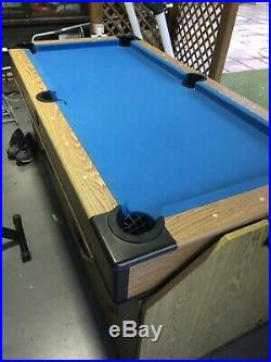 Debut electric air hockey and pool table (2 in 1) with accessories