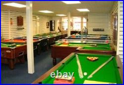 Deluxe 7 By 4 Folding Pool Table New With Accessories
