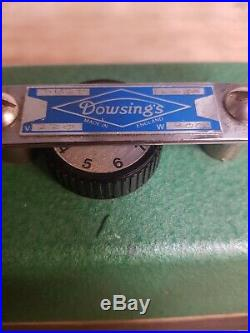 Dowsing Snooker Billiards Pool Table Iron Thermostatic 9 Position Dial