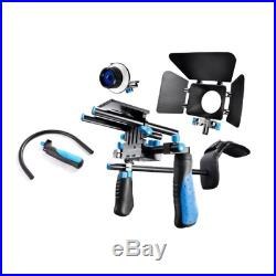 Eimo DSLR Rig Movie Kit Shoulder Mount Rig with Follow Focus and Matte Box and