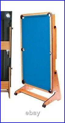 Folding Pool & table tennis Games Table with Accessories