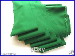 GREEN 6x3 Speed/Fast-Nylon- Quality Pool Tables Bed & Slate Cushions Set Cloth