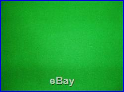 GREEN 6x3 WOOL QUALITY POOL TABLE CLOTH BED & CUSHIONS