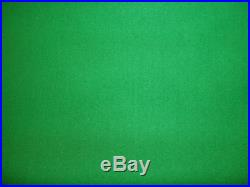 GREEN 7x4 SPEED QUALITÄT POOL TABLE CLOTH BED & CUSHIONS