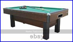 Gamesson Cambridge 7ft Pool Table, Accessories Included (UK)