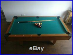 Gamesson Harvard Pool Table 6ft (including accessories as shown)