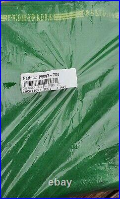 Green 7x4 Pool Table Cloth / Baize for Bed and Cushions Speed Quality