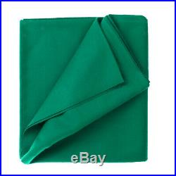 Green PNS760 Worsted Pool Table Cloth 9ft Table Fast Speed Billiard Felt
