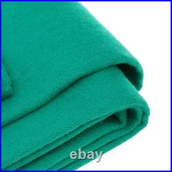 Green Pool Table Cloth + 6 Felt Strips for 9ft Snooker Pool Billiards Table