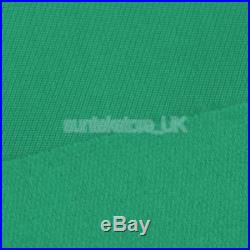 Green Worsted Pool Table Cloth 9ft Table Fast Billiard Felt with Strips