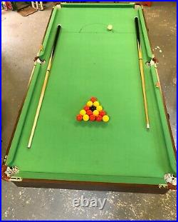 HLC 6FT Folding Pool/ Billiards table with accessories