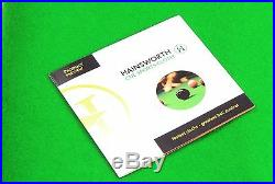 Hainsworth CLUB Bed & Cushion Set for 6ft UK Pool Table GREEN FREE DVD
