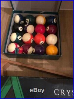 Hamilton dining snooker/pool table chairs and accessories