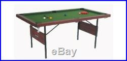 Hardly used 6ft Folding Snooker/Pool Table with accessories Xmas present