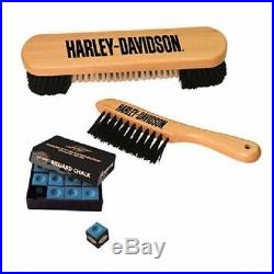 Harley Davidson Billiards Starter Kit Pool Table Accessory Kit with Free Shipping