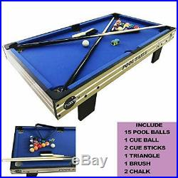 HaxTON Pool Table Accessories Kit with Pool Balls, Pool Chalk, Pool Triangle, an