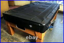 Heavy Duty Water Resistant Pool Table Cover 6FT BLACK