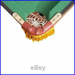 Kids Pool Table Beginners Birthday Gift Folding Legs Accessories Small Space New