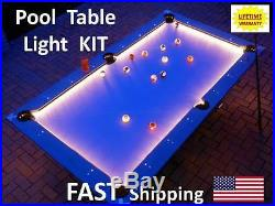 LED Billiard Table Lighting KIT Commercial Pool Hall Business Accessories