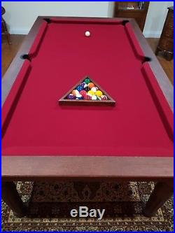 Luxury Pool Dining Table RRP £2,750 (including all accessories)