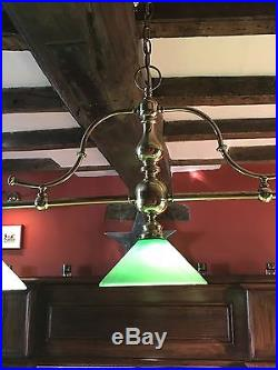 Luxury Pool Table Ceiling Light + four matching wall lights Christopher Wray