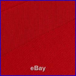 M00RI500 Quaity Smooth Durable Woolen Snooker Pool Table Cloth 9ft Red