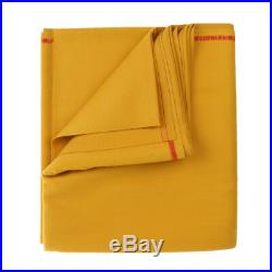 M00RI500 Wool Snooker Pool Billiards Table Cloth Felt for 9ft Table Golden
