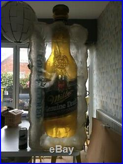 Miller Beer Pool Table Light for man caves or pool halls