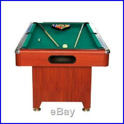 Modern 6ft Automatic Ball Return System Pool Table with Accessories