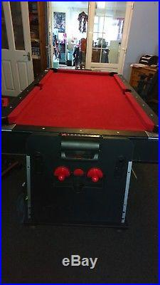 Multi Games Table Air Hockey & Pool Table Comes with Accessories