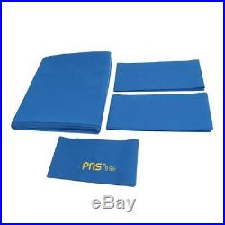 New PNS988 Wool Nylon Pool Table Cloth for 9ft Table Blue