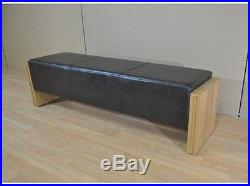 Oak Bench Pool Table Seat For 6ft or 7ft Pool Tables 140cm/160cm
