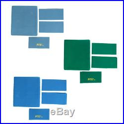 PNS760 Quality Wool Pool Snooker Billiards Felt / Cloth for 9ft Blue