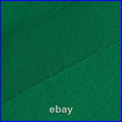 PNS760 Quality Wool Pool Snooker Billiards Felt / Cloth for 9ft Green