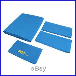 PNS760 Wool Pool Table Cloth Felt & Cushion Strips for 9ft Table Blue