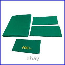 PNS760 Wool Snooker or Pool Table Cloth Felt for 9ft Table Green