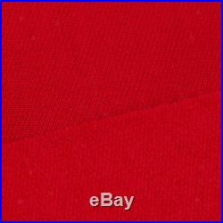 PNS900 Wool Nylon Pool Table Felt Billiard Cloth for 9 Foot Table Red