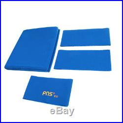 PNS900 Worsted Wool & Nylon Pool Table Cloth for 9ft Table Blue