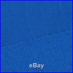 PNS900 Worsted Wool Snooker Pool Billiard Table Cloth 9ft Table Blue