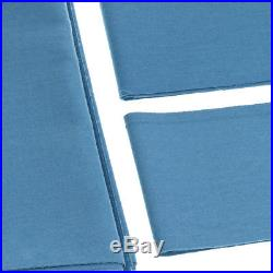 PNS988 Worsted Wool & Nylon Pool Table Cloth for 9ft Table Light Blue