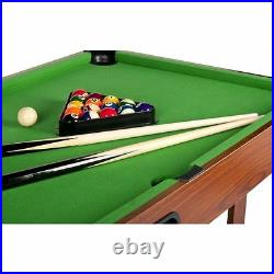 POOL TABLE 4ft'TYPHOON' BILLIARDS GAME KIDS ADULTS WITH ACCESSORIES
