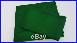 POOL TABLE SPEED CLOTH STRACHAN GREEN 7x4 QUALITY POOL TABLE CLOTH BED & CUSHION