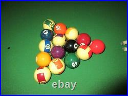 POT BLACK 6ft x 3ft Folding Snooker/Pool Table With Accessories